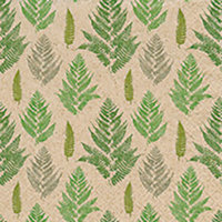 Naturals papieren servet varen patroon, 33x33cm gerecycled/ongebleekt