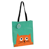 Shopper van gerecycled plastic Chester The Cat