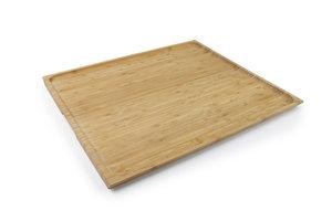 Bamboe houten dienblad. 40 x 35cm