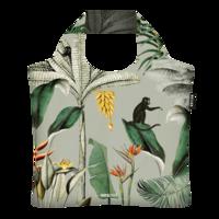 Ecozz opvouwbare tas van gerecyclede Pet flessen, Studio Onszelf Tropical Leaves