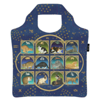 Ecozz Ecoshopper van gerecycled plastic, Francien's Astrology Cats