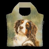 Ecozz opvouwbare tas van gerecyclede Pet flessen, Rien Poortvliet Berner Sennen Dog