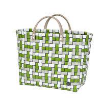 Handed By Shopper Refined Olive, 70% gerecycled plastic met binnenvak