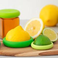 Foodhuggers, silicone Foodsavers Citrus Savers