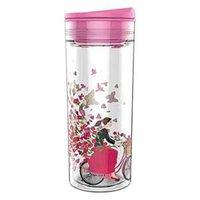 SlideCup Crystal Vlinders, lekvrije drinkbeker. BPA vrij.