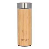 ReTulp Tumbler Bamboo Thermosfles - Bamboe drinkbeker 420ml