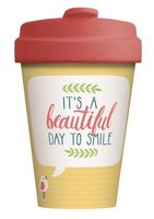 BambooCup volledig bamboe koffie to go beker Beautiful Day
