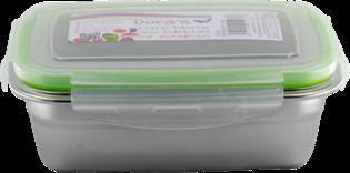 Dora's RVS lunchbox - voorraaddoos 550ml van roestvrij staal