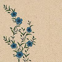 Naturals servet Flax, 33x33cm gerecycled/ongebleekt