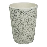 Zuperzozial Bamboe Beker Zip Cup Coral No1