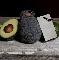 The Avocado Sock, Pewter (grijs)