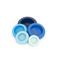 Foodhuggers, silicone Foodsavers Ice Blue