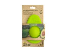 Avocado hugger, silicone Foodsaver speciaal voor een avocado