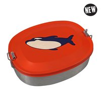 The Zoo RVS Lunch Box Orca