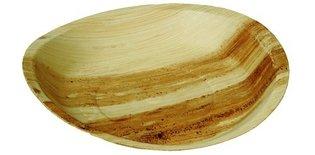 Palmblad bord rond groot 30cm, pak van 10 stuks