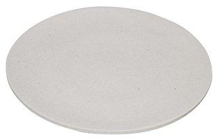 Jumbo bite plate Coconut White Ø35,5cm, XL bamboe bord van Zuperzozial
