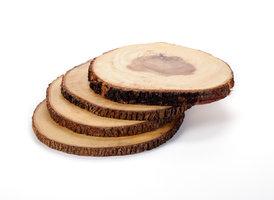 FairTrade boomstam onderzetter Medium