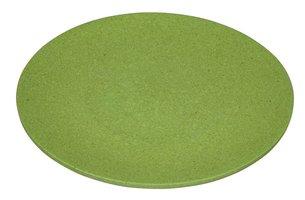 Bamboe Dinerbord Zuperzozial Large Bite Plate Ø27,5cm, groen