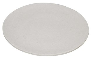Bamboe Dinerbord: Zuperzozial Large Bite Plate Coconut White Ø27,5cm