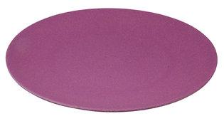 Jumbo Bite Plate Fig Violet van Zuperzozial, XL bamboe bord Ø35,5cm