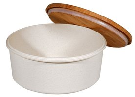 Zuperzozial Bamboe Cookie box koektrommel in Coconut White