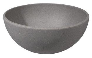 Bamboe kom van Zuperzozial Big Bowl Ø16cm, Stone Grey