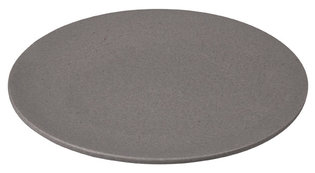 Bamboe ontbijtbord Zuperzozial Small Bite Plate Stone Grey Ø20,5cm