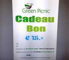 GreenPicnic Cadeaubon € 15,00