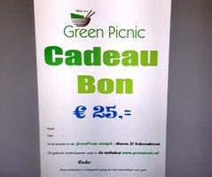 GreenPicnic Cadeaubon € 25,00