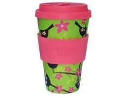EcoffeeCup Widdle Birdy, bamboe koffiebeker