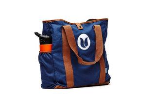Tulper shopping bag, met vakken voor drinkfles