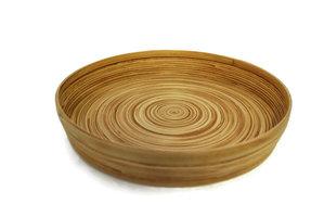 FairTrade bamboe dienblad rond