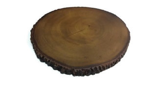 FairTrade boomstam onderzetter Large