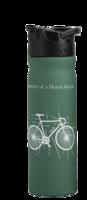 ReTulper RVS drinkfles 500ml groen Bicycle met drinktuit