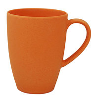 Zuperzozial Lean Back Mug Bamboe beker Pumpkin Orange