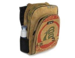 RagBag Backpack, rugtas van gerecyclede Theezakken