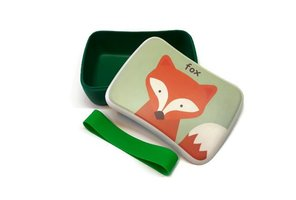 Bamboe Lunchbox - broodtrommel Fox