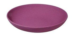 Zuperzozial diep bamboe bord: Deep Bite Plate Fig Violet