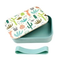 Rex London grote Bamboe Lunchbox Desert in Bloom - Eco broodtrommel