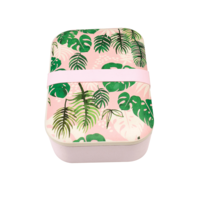 Rex London grote Bamboe Lunchbox Tropical Palm - Eco broodtrommel