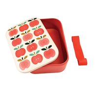 Rex London grote Bamboe Lunchbox Vintage Apple - Eco broodtrommel