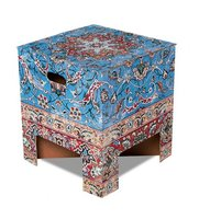 Dutch Design Chair Vintage Carpet