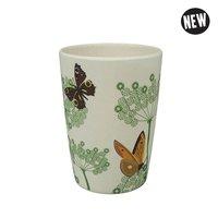 Zuperzozial Bamboe Beker Zip cup Botanic