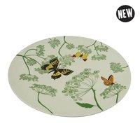 Bamboe Dinerbord: Zuperzozial Large Bite Plate Botanic Ø27,5cm