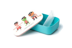 BambooFriends grote Bamboe Lunchbox Piratenschat