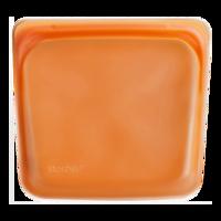 Stasher Bag Citrus - Plastic vrij bewaar en kook zakje oranje
