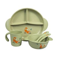 The ZOO, Eco-Kids PLA kinder servies set Fox