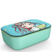 BambooFriends grote Bamboe Lunchbox Queeny & Quaks