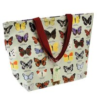 Grote Shopper van gerecycled plastic Butterfly