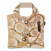 Ecozz opvouwbare tas van gerecyclede Pet flessen, Gustav Klimt Tree of Life